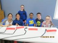 L'équipe A de l'école Bois-du-Nord a terminé en 4e position dans le junior en 2014-2015. Sara-Kim Beaulieu, Maë Dufourd, Sandrine Cadoret, Luckas Rakotondrafara, Jérémy Dumont, Alexanne Martel.