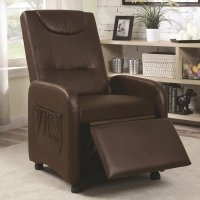 Folding Push Back Recliner - Recliners and Rockers ...