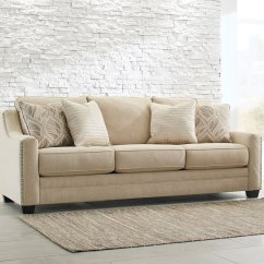 Ashley Furniture Ballari Linen Sofa Sherrill Sectional Sofas Sale Mauricio Living Room