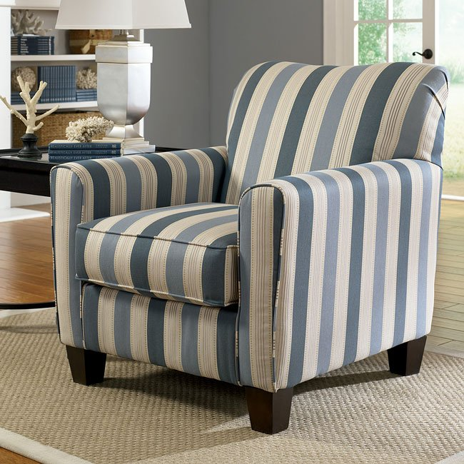 addison sofa ashley furniture beds rochester ny - blue accent chair signature design by ...