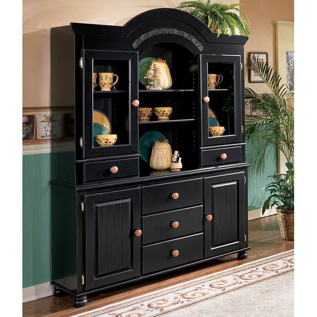 Cedar Heights Buffet with Hutch Signature Design by Ashley