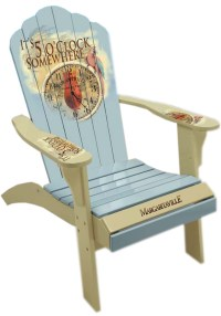 """Camping Station - Margaritaville Painted """"5 O'clock Time ..."""