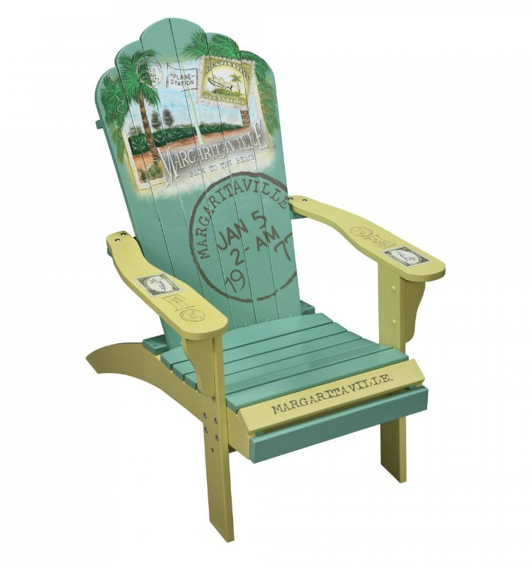 Camping Station  Margaritaville Painted Back to the