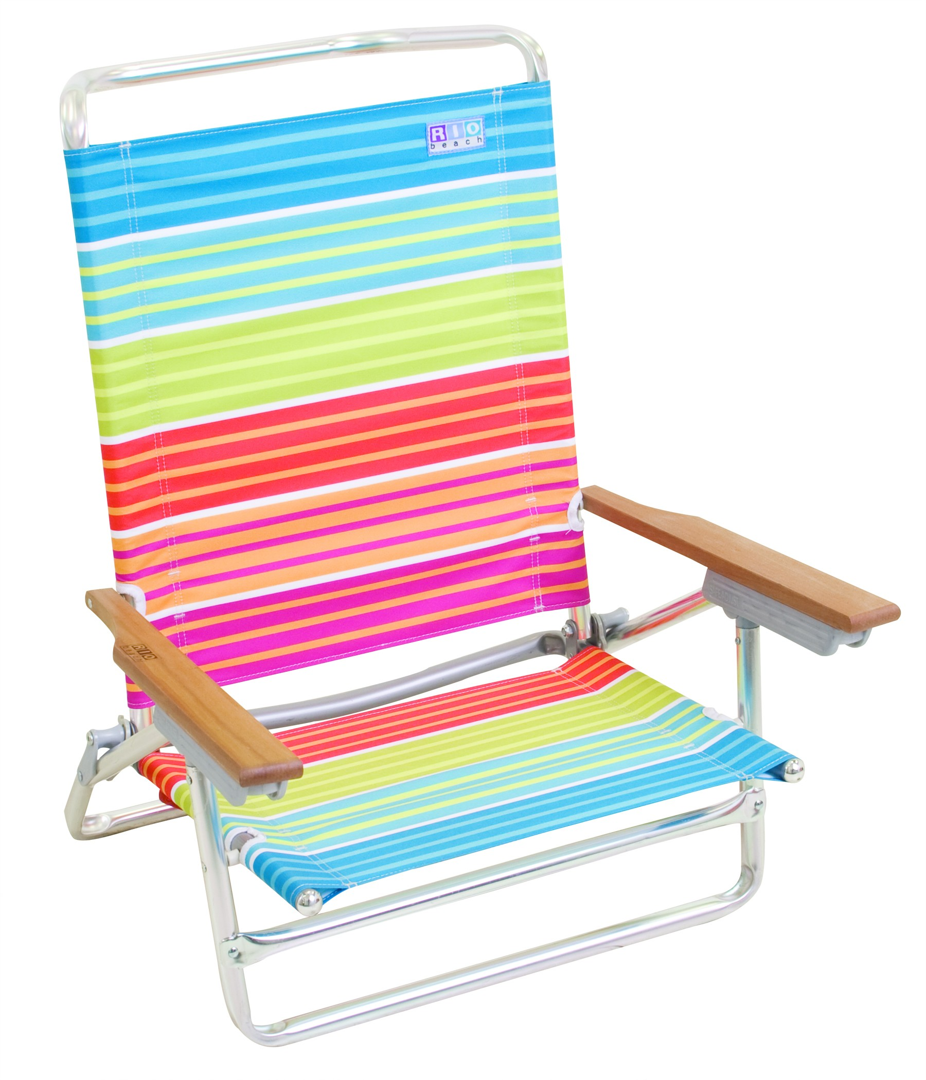 high back beach chair best chairs for posture reddit camping station adjusts to 5 position