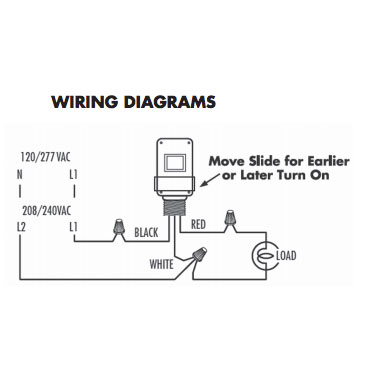 Wiring Diagram: 33 Tork Photocell Wiring Diagram