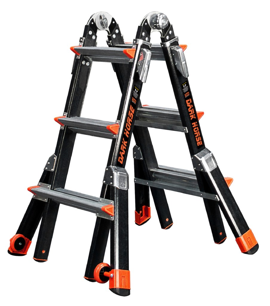 Little Giant Multi-Positional Dark Horse ladder