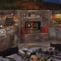 Lakeside Fierplace - Outdoor Living