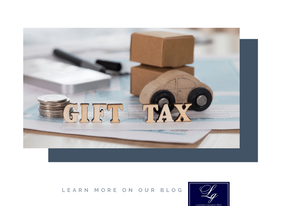 How can someone legally avoid paying gift taxes during their lifetime?