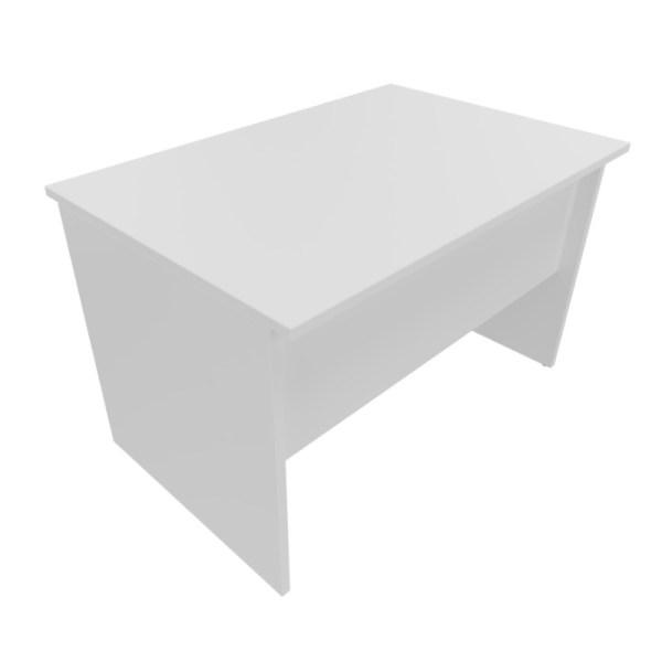 biurko proste na płytowych nogach