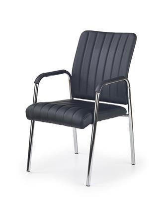 krzesło konferencyjne czarne