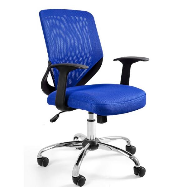 fotel mi niebieski