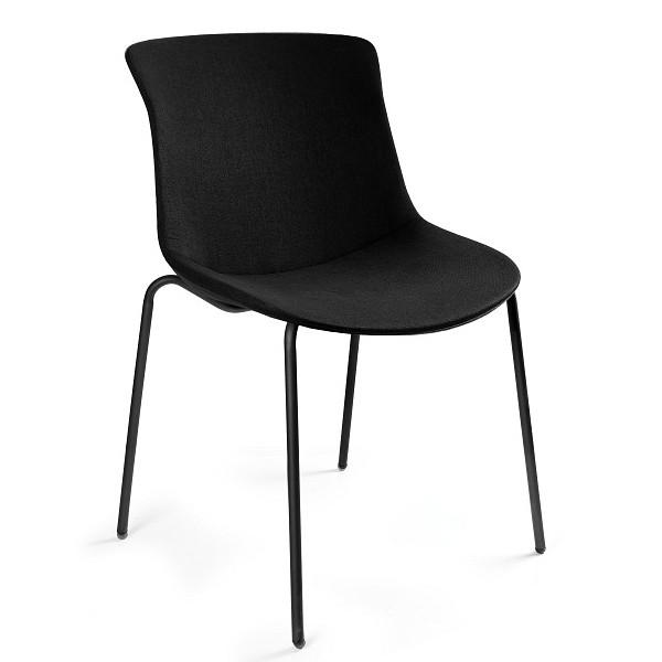 krzesło konferencyjne materiałowe