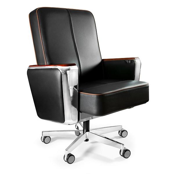 niski fotel gabinetowy