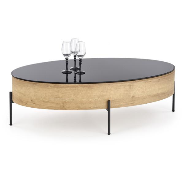 stolik kawowy z pojemnikiem