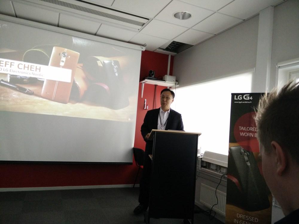 Den svenska lanseringen av LG G4 (eller målet att försöka skapa en naturlig relation mellan teknik och människa) (1/6)