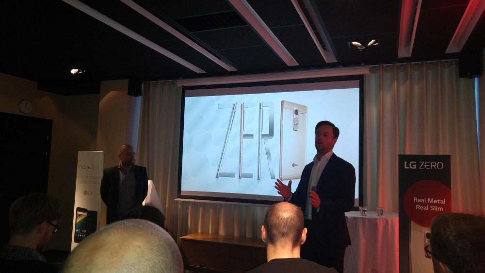 LG:s Q4 produktnyheter: LG Zero, LG Easy Smart och självklart Nexus 5X! (2/6)