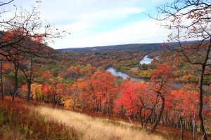 View from the Charcoal Trail in autumn