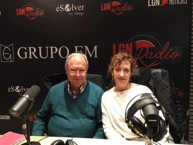 Azucena Balandín Hernández y Emilio Rodríguez