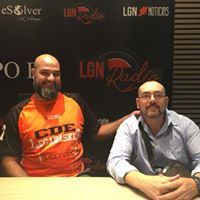 Luis Merino y Juan Albalat, jugadores del Legabasket en silla de ruedas