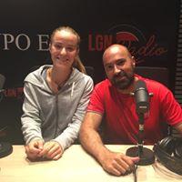 María Picazo, jugadora de tenis de Leganés