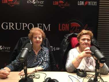 Mari Carmen Miguel y Lolita Íñiguez