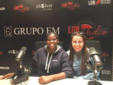 Tamara Ortega y Vicky Lima, YMCA España