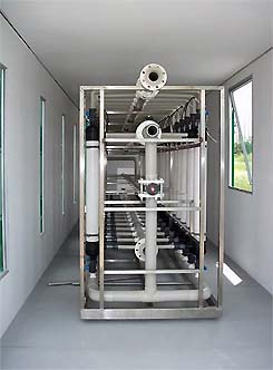 MOBILE WATER PRODUCTION PLANT: