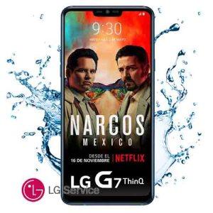 Diagnóstico LG G7 Thinq