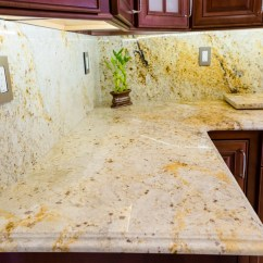 Kitchen Countertop Cover Granite For Outdoor Does My Stone Need To Have Seams Let S Get Stoned Colonial Gold Counter Top
