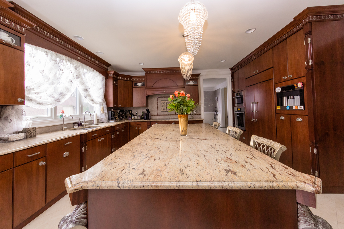 Why You Need A Kitchen Island  With A Natural Stone Top