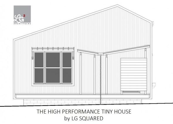 high performance tiny house