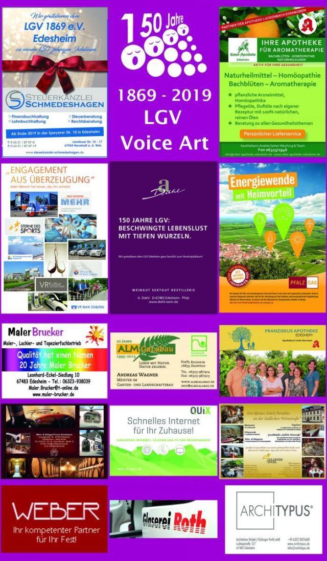 2019 VoiceArt Sponsoren