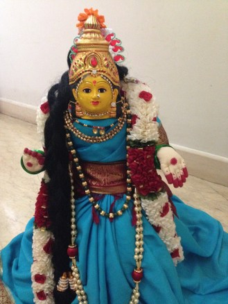 Golu 2013 -Amman bestowing her grace upon our humble abode!!!