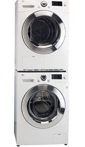 "24"" Compact Washer & Dryer - WM1355HW & DLEC855W"