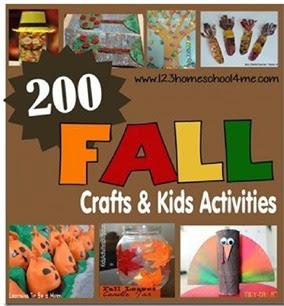 200 Fall Crafts & Kids Activiites