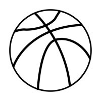 Pelota de basquetbol dibujo - Imagui