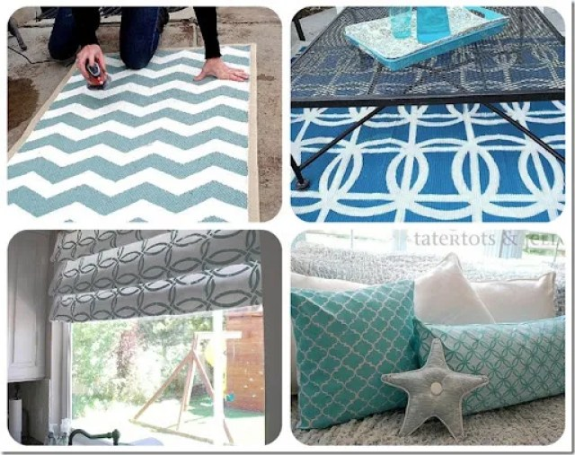 stenciled projects