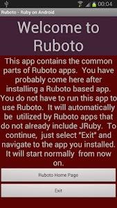 Ruboto Core screenshot 0