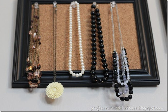 Jewlery Organization Display