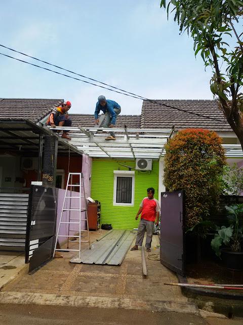 kelebihan baja ringan taso bongkar pasang canopy murah 081394632893:cv.putraharuman