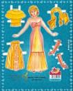 Paper dolls / Recortable muñecas.