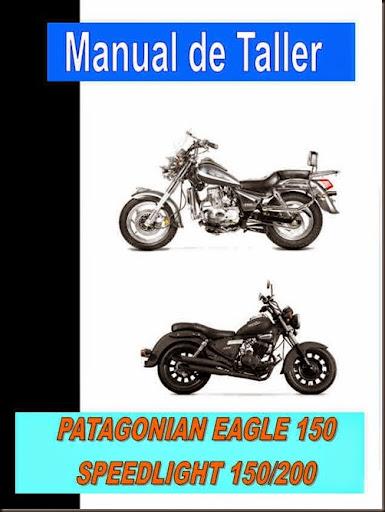 manual taller zanella PATAGONIAN EAGLE 150 SPEEDLIGHT 150 200
