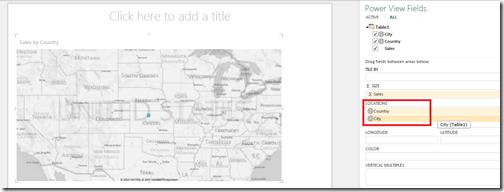 Adding drilldown fields to location