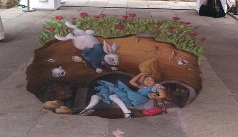 24. Alice por la madriguera del conejo