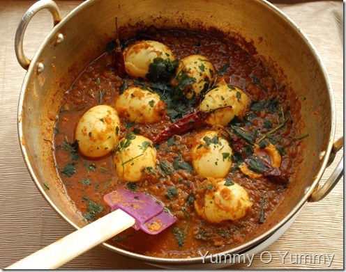 Mutta Curry - Nadan Style