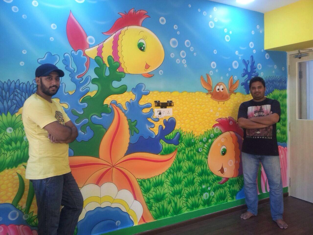 Mumbai Kindergarten Wall Painting Facebook Page