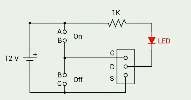 Berbagi Tulisan: Cara cek kondisi MOSFET