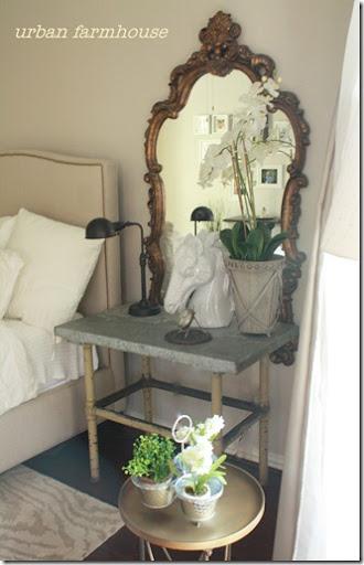 Urban Farmhouse Tranquil Master Bedroom Makeover