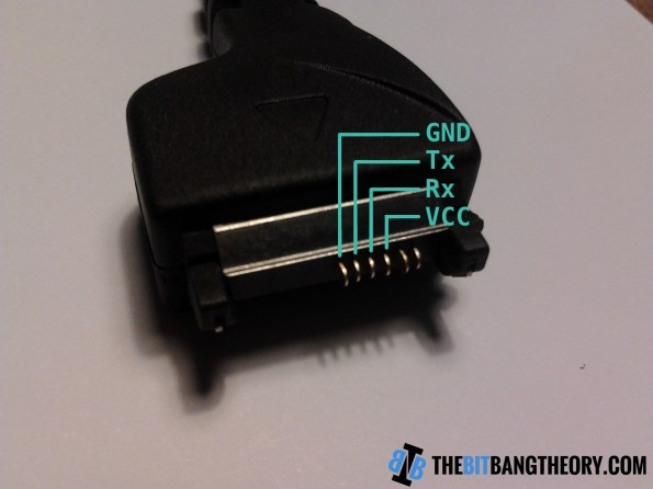 DKU5 data cable pinout