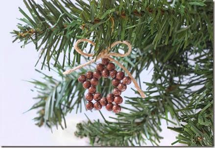 Christmas Beaded Stars Ornaments Tutorial